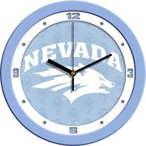 Nevada Wolfpack - Baby Blue Wall Clock - SuntimeDirect