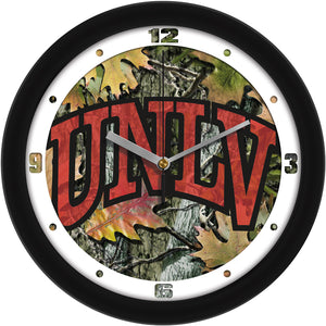 Las Vegas Rebels - Camo Wall Clock - SuntimeDirect