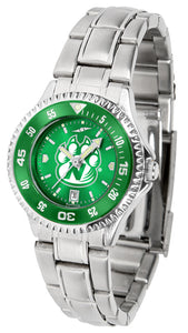 Northwest Missouri State Bearcats - Competitor Ladies' Steel AnoChrome  -  Color Bezel - SuntimeDirect