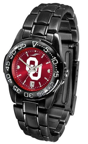 Oklahoma Sooners - Ladies' Fantom Watch - SuntimeDirect