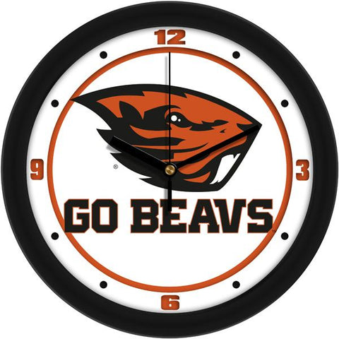 Oregon State Beavers - Traditional Wall Clock