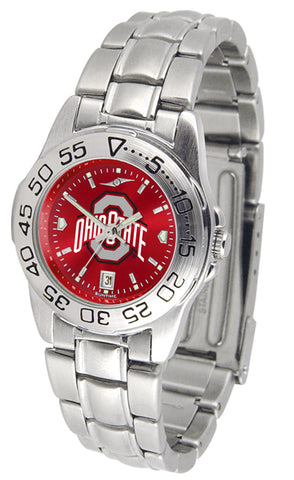Ohio State Buckeyes - Ladies' Sport Steel AnoChrome