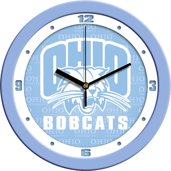Ohio University Bobcats - Baby Blue Wall Clock