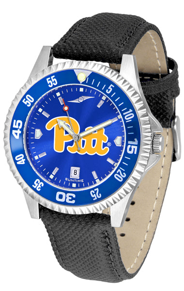 Pittsburgh Panthers - Competitor AnoChrome  -  Color Bezel - SuntimeDirect