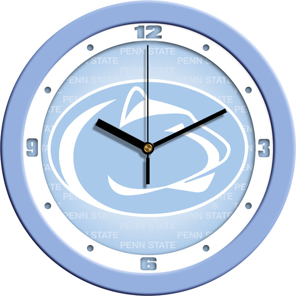 Penn State Nittany Lions - Baby Blue Wall Clock - SuntimeDirect