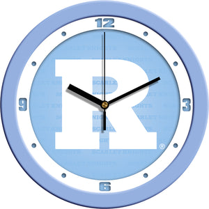 Rutgers Scarlet Knights - Baby Blue Wall Clock