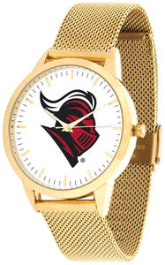 Rutgers Scarlet Knights - Mesh Statement Watch - Gold Band