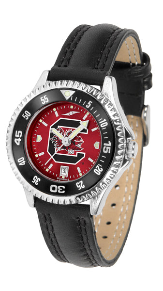 South Carolina Gamecocks - Competitor Ladies' AnoChrome  -  Color Bezel - SuntimeDirect