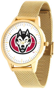 Saint Cloud State Huskies - Mesh Statement Watch - Gold Band