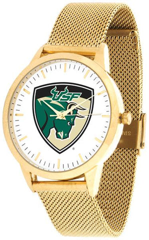South Florida Bulls - Mesh Statement Watch - Gold Band