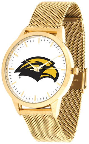 Southern Mississippi Eagles - Mesh Statement Watch - Gold Band