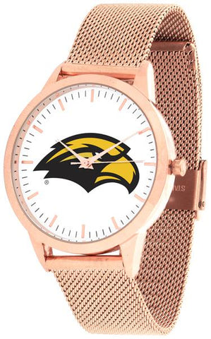 Southern Mississippi Eagles - Mesh Statement Watch - Rose Band