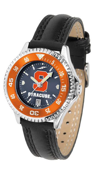 Syracuse Orange - Competitor Ladies' AnoChrome  -  Color Bezel - SuntimeDirect