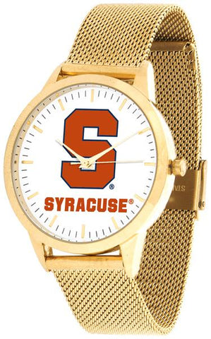 Syracuse Orange - Mesh Statement Watch - Gold Band