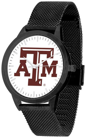 Texas A&M Aggies - Mesh Statement Watch - Black Band