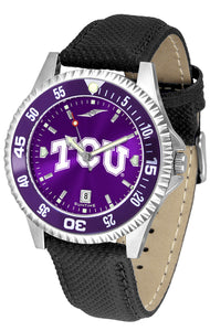 Texas Christian Horned Frogs - Competitor AnoChrome  -  Color Bezel - SuntimeDirect