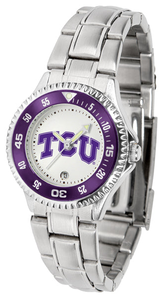 Texas Christian Horned Frogs - Competitor Ladies Steel - SuntimeDirect