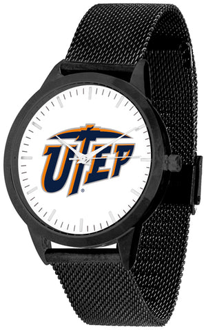 Texas El Paso Miners - Mesh Statement Watch - Black Band