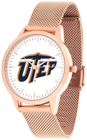 Texas El Paso Miners - Mesh Statement Watch - Rose Band