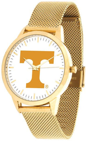 Tennessee Volunteers - Mesh Statement Watch - Gold Band