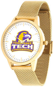 Tennessee Tech Eagles - Mesh Statement Watch - Gold Band