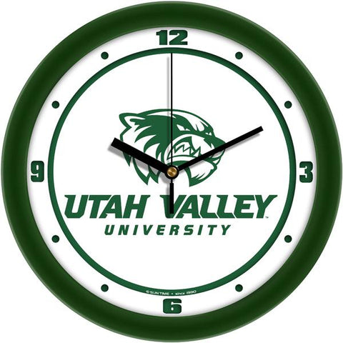 Utah Valley Wolverines - Traditional Wall Clock
