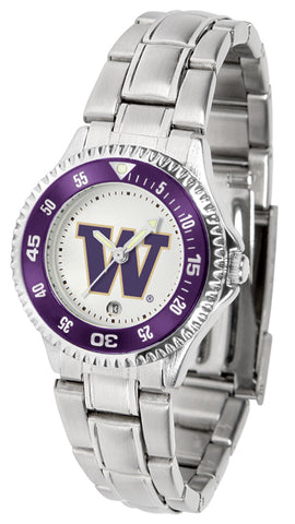 Washington Huskies - Competitor Ladies Steel