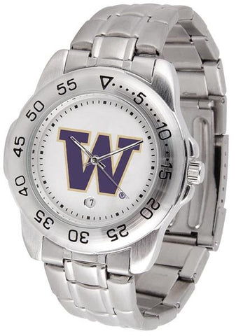Washington Huskies - Sport Steel