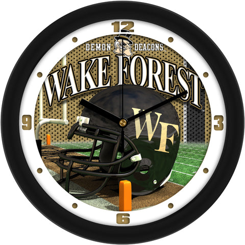 Wake Forest Demon Deacons - Football Helmet Wall Clock