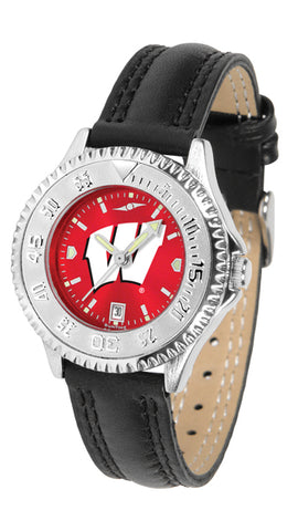 Wisconsin Badgers - Ladies' Competitor AnoChrome