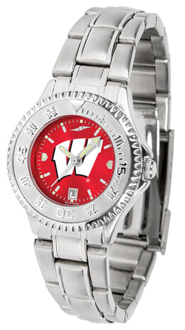 Wisconsin Badgers - Ladies' Competitor Steel AnoChrome