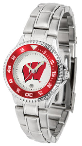 Wisconsin Badgers - Competitor Ladies Steel