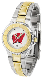 Wisconsin Badgers - Competitor Ladies Two - Tone