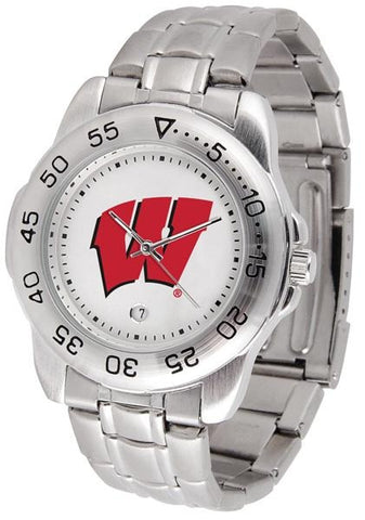 Wisconsin Badgers - Sport Steel