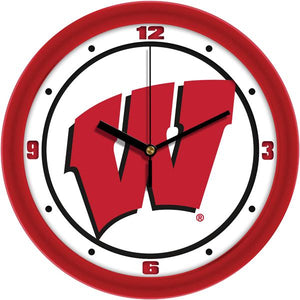 Wisconsin Badgers - Traditional Wall Clock