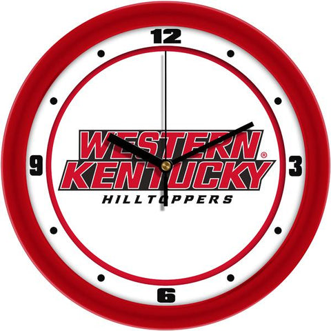 Western Kentucky Hilltoppers - Traditional Wall Clock