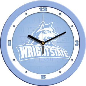 Wright State Raiders - Baby Blue Wall Clock