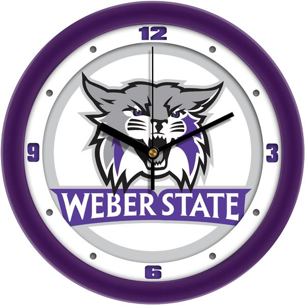 Weber State Wildcats - Traditional Wall Clock