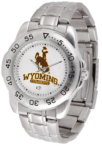 Wyoming Cowboys - Sport Steel