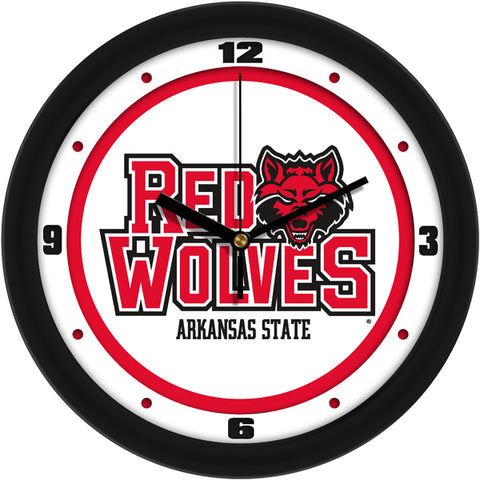 Arkansas State Red Wolves - Traditional Wall Clock