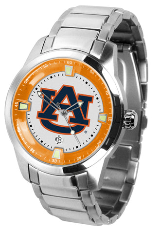 Auburn Tigers - Men's Titan Steel Watch