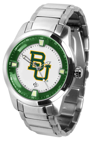 Baylor Bears - Men's Titan Steel Watch