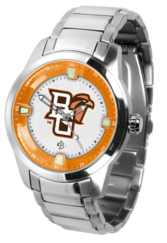 Bowling Green Falcons - Men's Titan Steel Watch