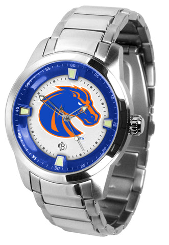 Boise State Broncos - Men's Titan Steel Watch