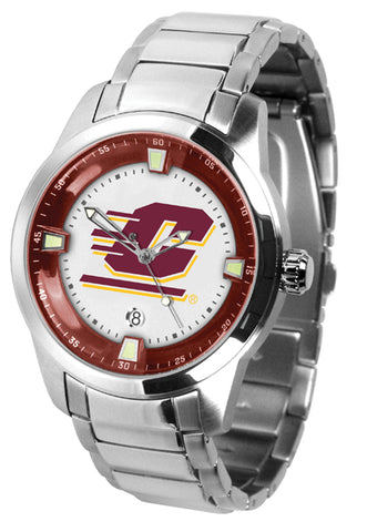 Central Michigan Chippewas - Men's Titan Steel Watch