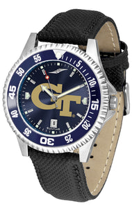 Georgia Tech Yellow Jackets - Competitor AnoChrome  -  Color Bezel - SuntimeDirect