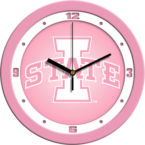 Iowa State Cyclones - Pink Wall Clock - SuntimeDirect