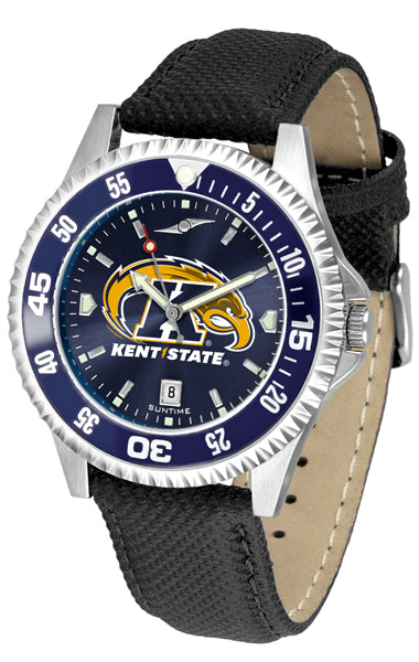 Kent State Golden Flashes - Competitor AnoChrome  -  Color Bezel