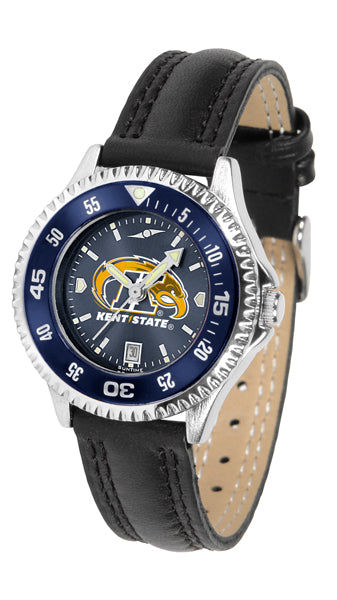 Kent State Golden Flashes - Competitor Ladies' AnoChrome  -  Color Bezel