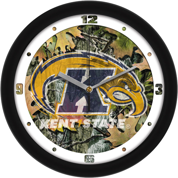 Kent State Golden Flashes - Camo Wall Clock